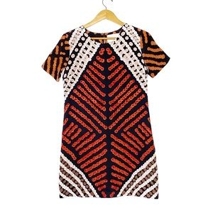Anthropologie Silk Shift Dress by Roopa Pemmaraju